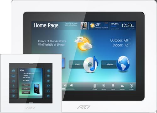 RTI InWall Touchpanel - CX7, KX2